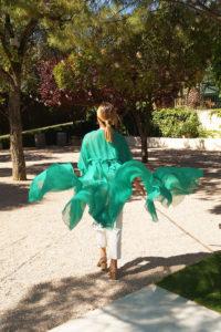 kimono gasa plumeti verde15