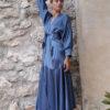 vestido kimono zafiro
